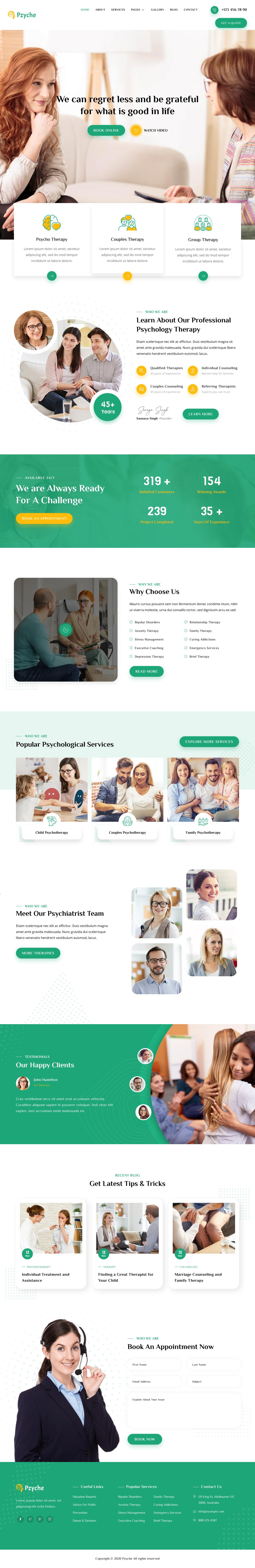 Køb ny hjemmeside psykologer og terapeuter