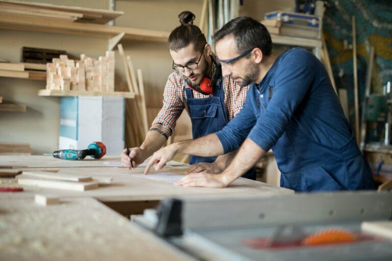 Håndværker hjemmeside med SEO