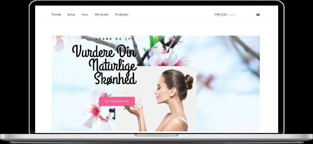 Webshop designer til design af webshop / webbutik. Køb ny webshop med garanti.