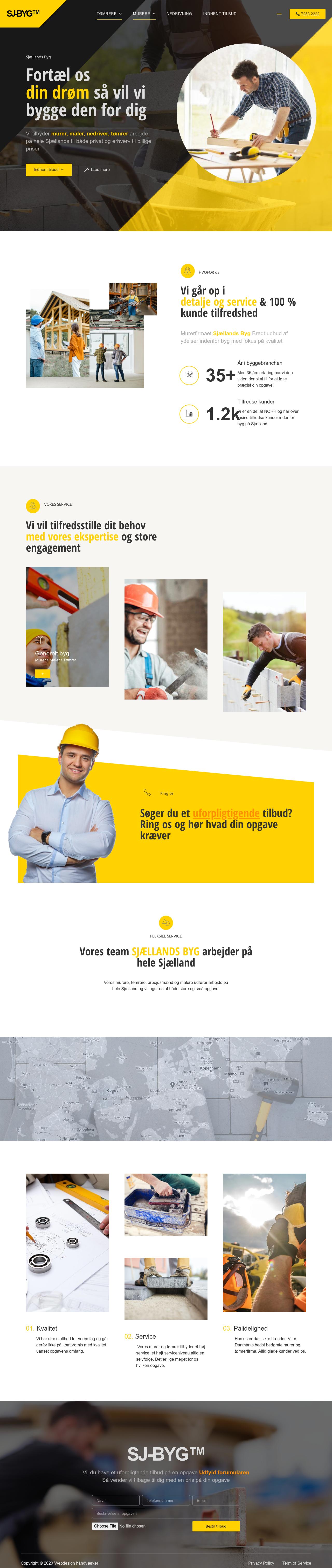 Ny hjemmeside murer og murerfirma