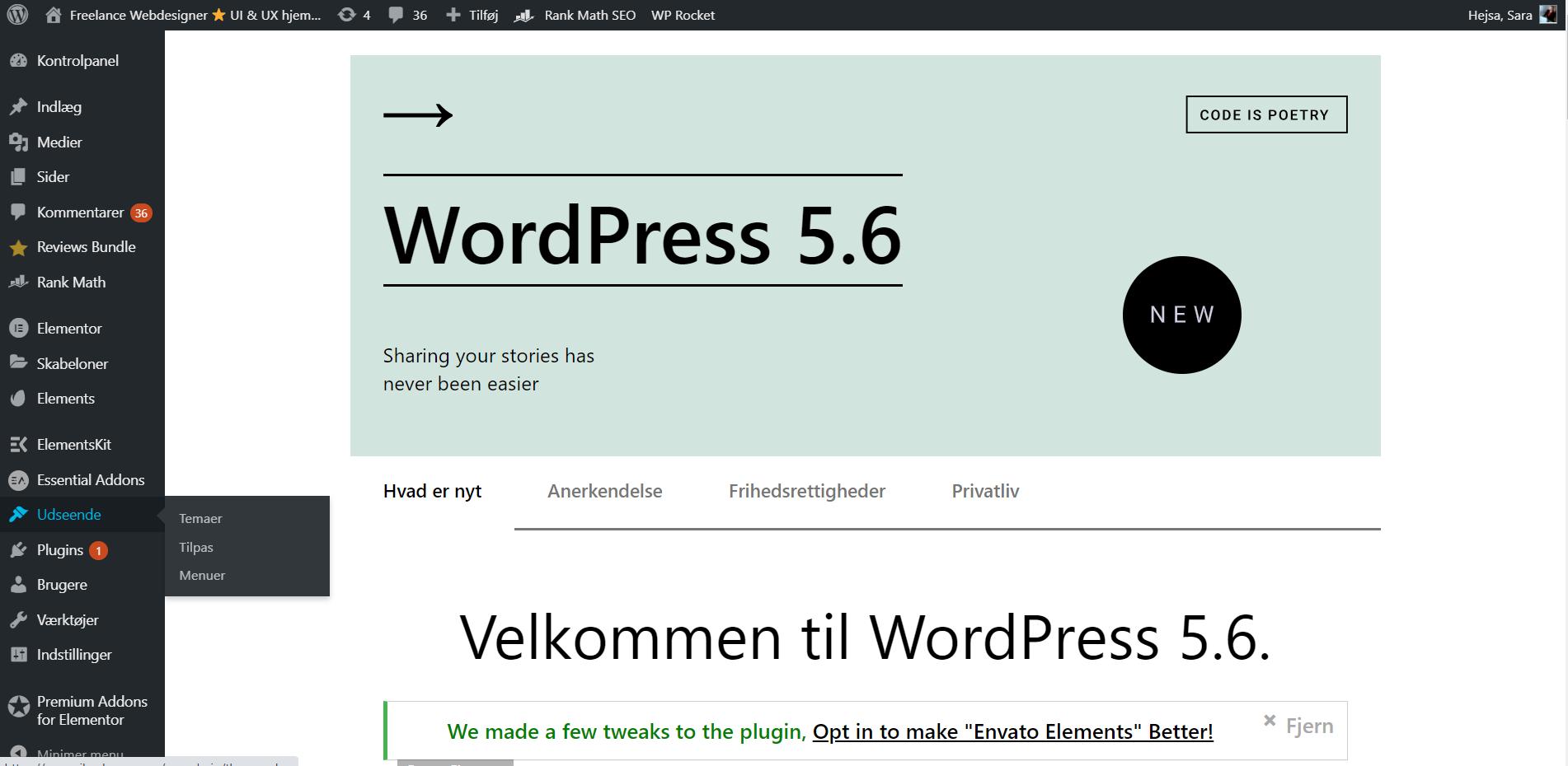 WordPress hjemmeside Guide → Skabe dit eget WordPress webshop