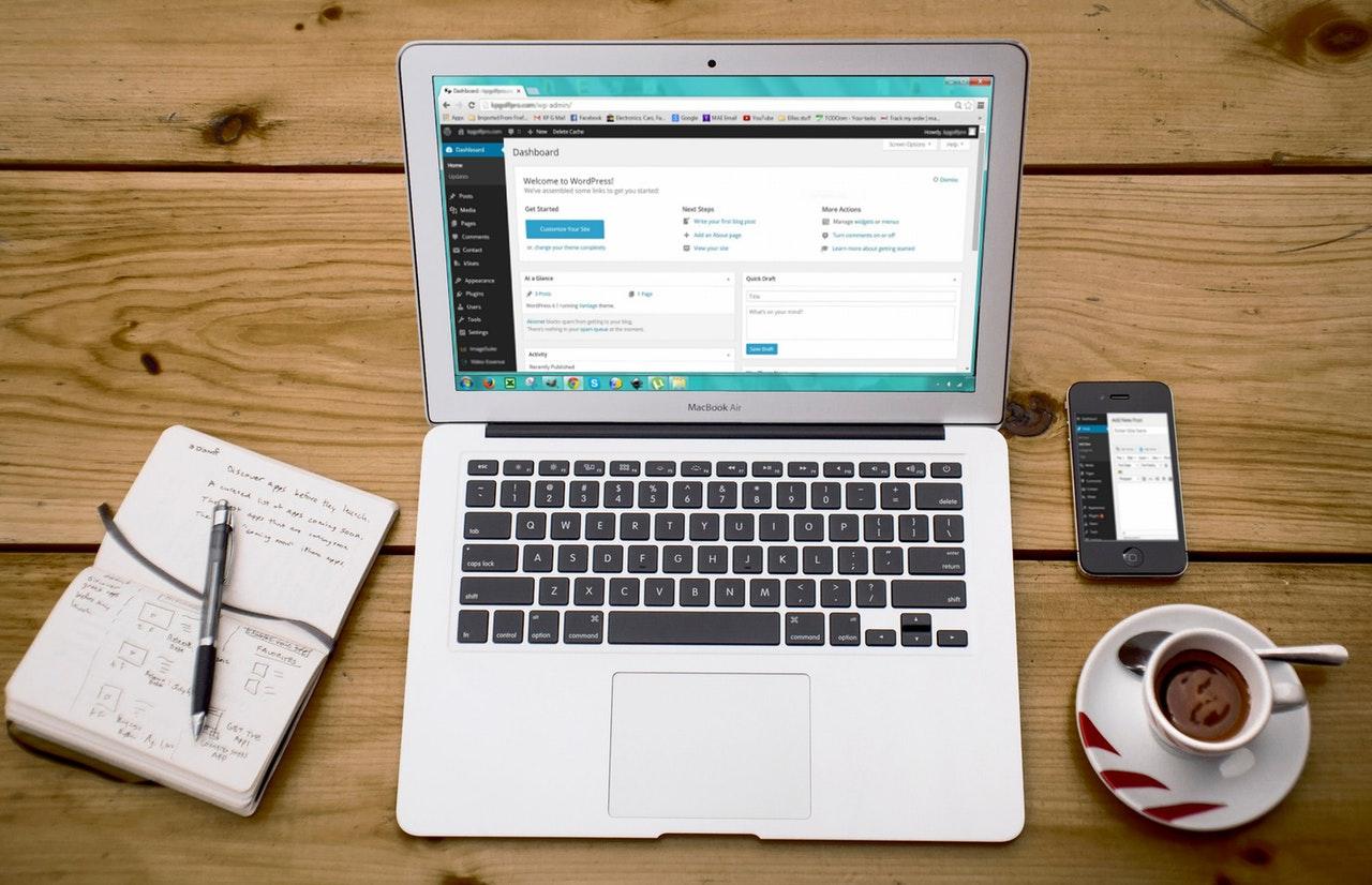 WordPress hjemmeside → Skabe dit eget WordPress websted